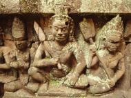 Asisbiz Leper King Terrace hidden wall underworld Nagas and deities 128