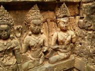 Asisbiz Leper King Terrace hidden wall underworld Nagas and deities 132