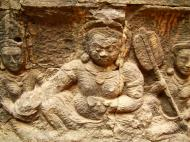 Asisbiz Leper King Terrace hidden wall underworld Nagas and deities 133