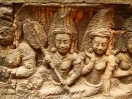 Asisbiz Leper King Terrace hidden wall underworld Nagas and deities 134