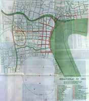 Map Shanghai 1855