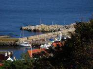 Asisbiz Bornholm has many little marinas and habors Bornholm Denmark 01