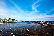Asisbiz Ecology coastline Gudhjem Bornholm Denmark 01