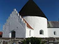 Asisbiz One of four Round Churches in Bornholm Denmark 01