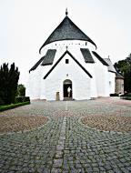 Asisbiz Osterlars round Church built 1160 is 5 km south of Gudhjem on the Danish island of Bornholm July 2012 05