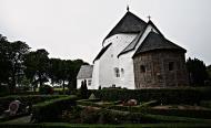Asisbiz Osterlars round Church built 1160 is 5 km south of Gudhjem on the Danish island of Bornholm July 2012 07