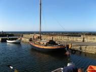 Asisbiz Yacht moored in one of Bornholm numerous marinas Denmark 01