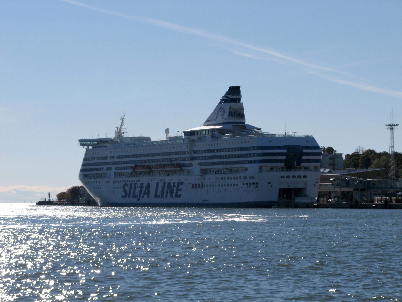 Silja Line moored Tallinn Estonia 01