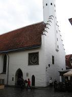 Asisbiz Puhavaimu clock old town Saiakang 4 10123 Tallinn Harju Estonia 01
