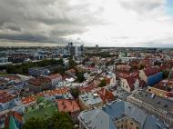 Asisbiz St Olafs Church Estonian Oleviste kirik Tallinn Estonia built 1267 East views 01