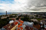 Asisbiz St Olafs Church Estonian Oleviste kirik Tallinn Estonia built 1267 North East views 01