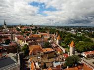 Asisbiz St Olafs Church Estonian Oleviste kirik Tallinn Estonia built 1267 westerly views 01