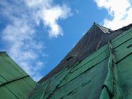 Asisbiz St Olafs Church spire looking up to the heavens I call this series of photos Vertigo 01