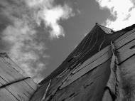 Asisbiz St Olafs Church spire looking up to the heavens I call this series of photos Vertigo 02
