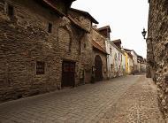Asisbiz Street views Old castle walls encasing the old medieval city of Tallinn Estonia 01