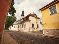 Asisbiz Walking down Suur Kloostri street heading westerly Tallinn Harju Estonia 01