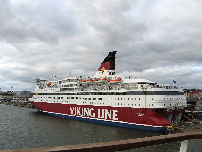 Viking Line MS Gabriella Helsinki harbor Finland 01