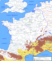 Gallic tribes map