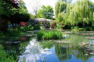 Asisbiz Travel to Claude Monet Water Lily Pond in Giverny France Japanese bridge 03