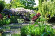 Asisbiz Travel to Claude Monet Water Lily Pond in Giverny France Japanese bridge 04