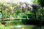 Asisbiz Travel to Claude Monet Water Lily Pond in Giverny France Japanese bridge 06