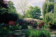 Asisbiz Travel to Claude Monet Water Lily Pond in Giverny France Japanese bridge 09