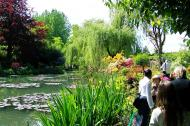 Asisbiz Travel to Claude Monet Water Lily Pond in Giverny France weeping willow 05