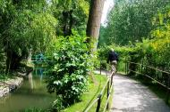 Asisbiz Travel to Claude Monet home or Chateau garden pathways in Giverny France 04