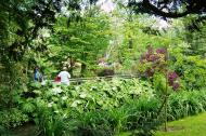 Asisbiz Travel to Claude Monet home or Chateau garden pathways in Giverny France 05