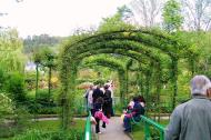 Asisbiz Travel to Claude Monet home or Chateau garden pathways in Giverny France 07