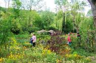 Asisbiz Travel to Claude Monet home or Chateau garden pathways in Giverny France 08
