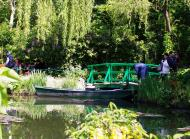 Asisbiz Travel to Claude Monet home or Chateau garden pathways in Giverny France 10