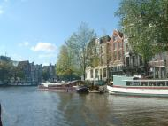 Asisbiz Holland Amsterdam canal scenes Oct 2001 25