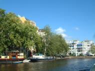 Asisbiz Holland Amsterdam canal scenes Oct 2001 26