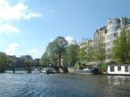 Asisbiz Holland Amsterdam canal scenes Oct 2001 27