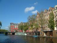 Asisbiz Holland Amsterdam canal scenes Oct 2001 81