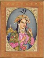 Asisbiz A painting of the Mumtaz Mahal