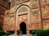 Asisbiz Uttar Pradesh Agra Agra Fort Amar Singh Gate India Apr 2004 01