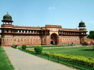 Asisbiz Uttar Pradesh Agra Agra Fort Jahangiri mahal India Apr 2004 01