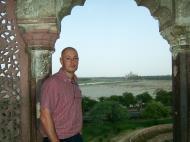 Asisbiz Uttar Pradesh Agra Agra Fort view of Taj Mahal India Apr 2004 03