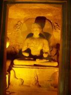 Asisbiz Marathwada Ajanta Caves Buddha carvings India Apr 2004 04
