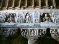Asisbiz Marathwada Ajanta Caves Buddha carvings India Apr 2004 05
