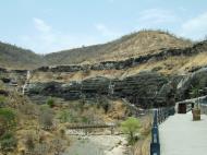 Asisbiz Marathwada Ajanta Caves entrance India Apr 2004 01