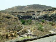 Asisbiz Marathwada Ajanta Caves entrance India Apr 2004 02