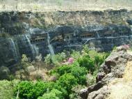 Asisbiz Marathwada Ajanta Caves entrance India Apr 2004 05