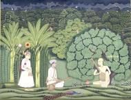 Asisbiz Akbar and Tansen visit Haridas