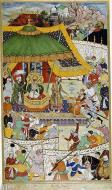 Asisbiz Court of Akbar from Akbarnama