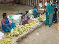 Asisbiz Madurai Alagar Kovil Temple fruit sellers India May 2004 01