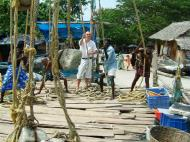 Asisbiz Chinese fishing nets Cheena vala of Fort Kochi Fort Cochin India May 2004 18