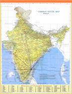 Asisbiz A map drawing of the Chennai International Airport